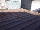 住吉町・店舗/瓦棒塗替え工事しました。